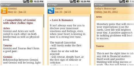 horoscope android app