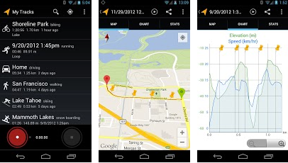 google fitness android app
