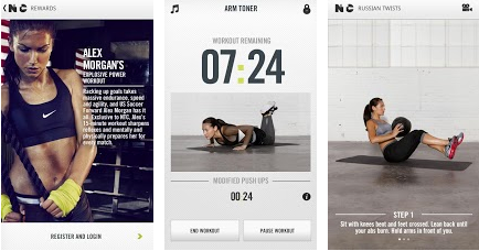 training app Nike