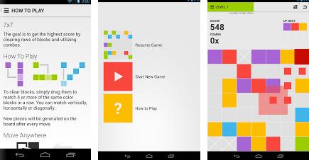 7x7 ICS puzzle android app