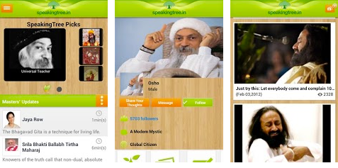 speaking tree android application