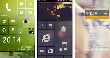 windows 8 free android launcher