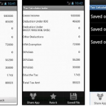Income tax calculator india android app
