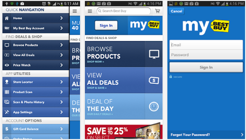 best buy android app
