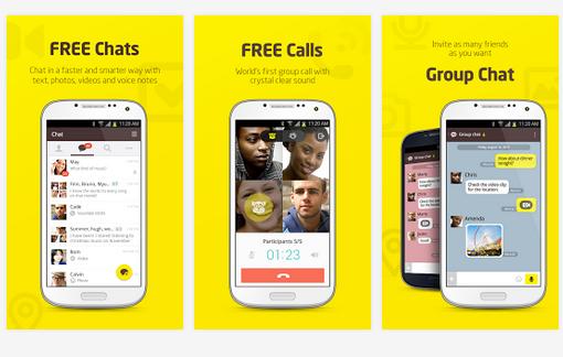 Kakao talk android app