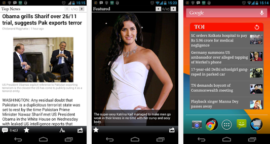 times of india mobile app