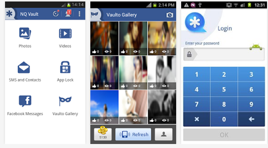 photo vault android app