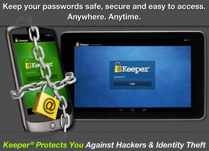 Secure Password Android app