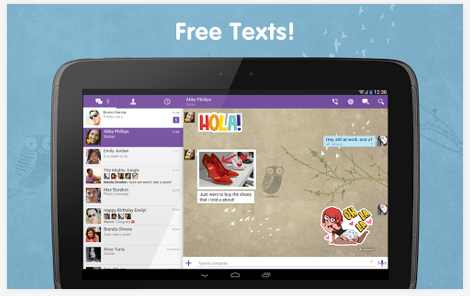 viber free chat mobile app