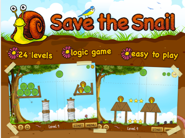 Save the snail android application
