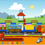 lego toy train app