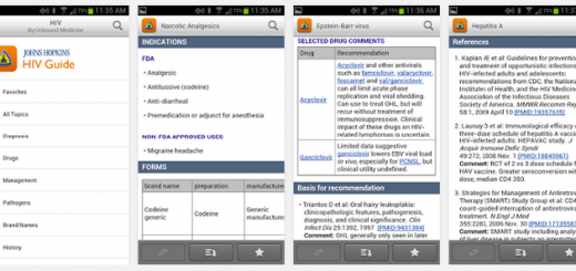 hiv & aids information mobile app
