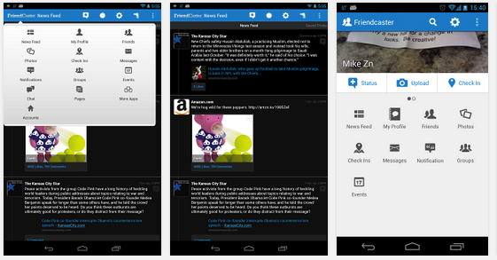 facebook tablet app for android free